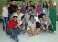 Jovens na Oficina Preparatória da IV CNIJMA, em Fortaleza/CE. Foto: Lindalva Cruz, 2012.